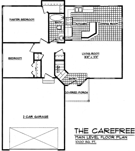 Floorplan Carefree 2