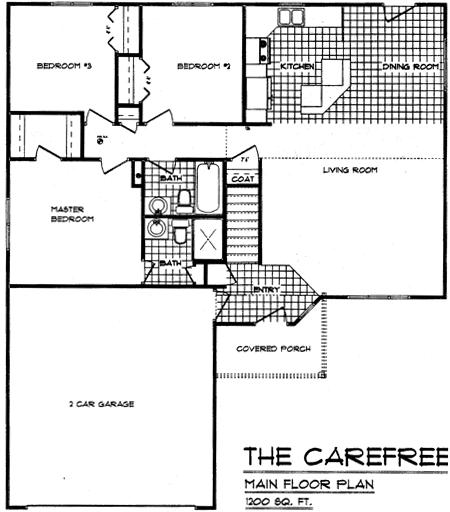 Floorplan Carefree 3