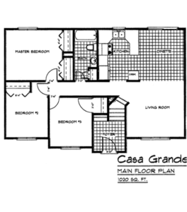 Floorplan Casa Grande