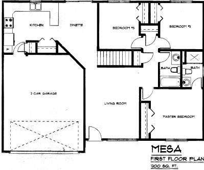 Floorplan Mesa
