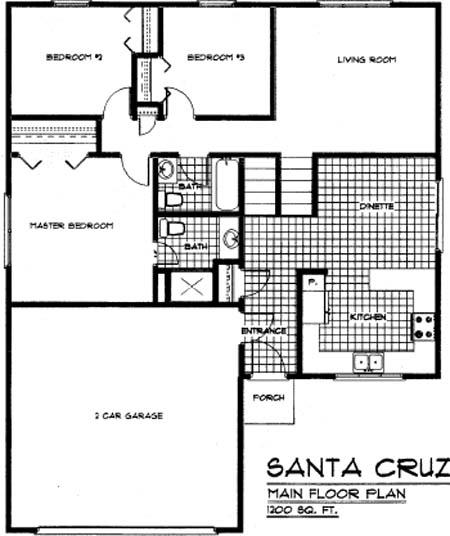 Floorplan Santacruz
