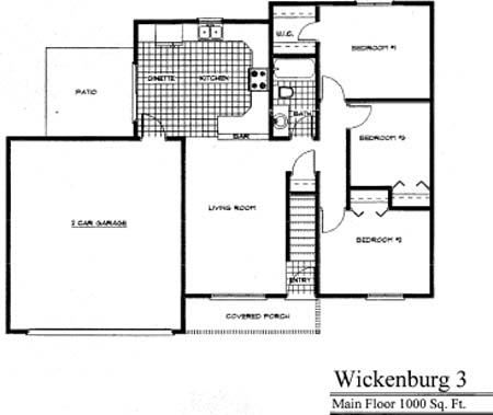 Floorplan Wickenburg
