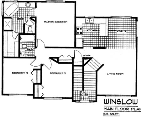 Floorplan Winslow